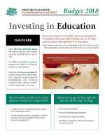 Thumbnail of PEI Budget Education Highlights cover