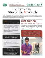 Thumbnail of PEI Budget Students and Youth Highlights cover