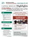Thumbnail of Capital Budget Highlights Backgrounder