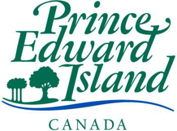 Colour Government of Prince Edward Island wordmark in English