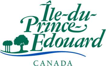 Colour Government of Prince Edward Island wordmark in French