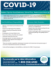 Thumbnail image of the Food Safety information sheet for COVID-19