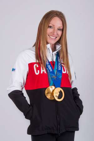 Portrait image of Heather Moyse