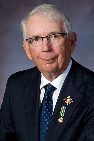 Portrait of Lieutenant Governor of Prince Edward Island, Honourable H. Frank Lewis