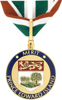 Image of the Medal of Merit given to members of the Order of Prince Edward Island