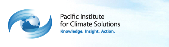This is the grapical logo for the Pacific Institute for Climate Solutions