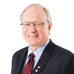 Portrait image of Hon. Wade MacLauchlan, premier of Prince Edward Island