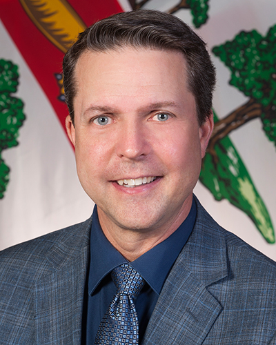 Portrait image of Hon. Brad Trivers