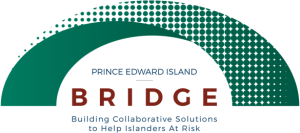 "Logo for ""PEI Bridge"" initiative"