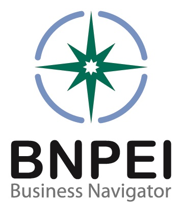 Compass icon with the text BNPEI Business Navigator