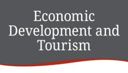 Economic Development and Tourism department logo