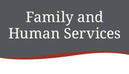 Family and Human Services department logo