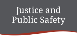 Justice and Public Safety department logo