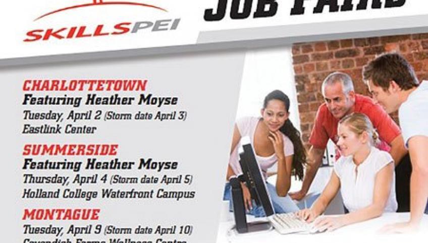 Clip from Jobs Fair 2019 poster