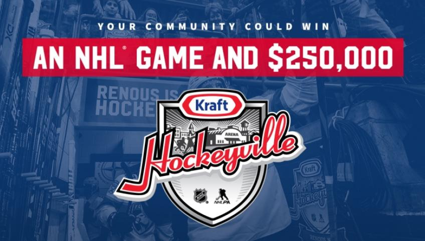 Web graphic of Kraft Hockeyvillle (c)