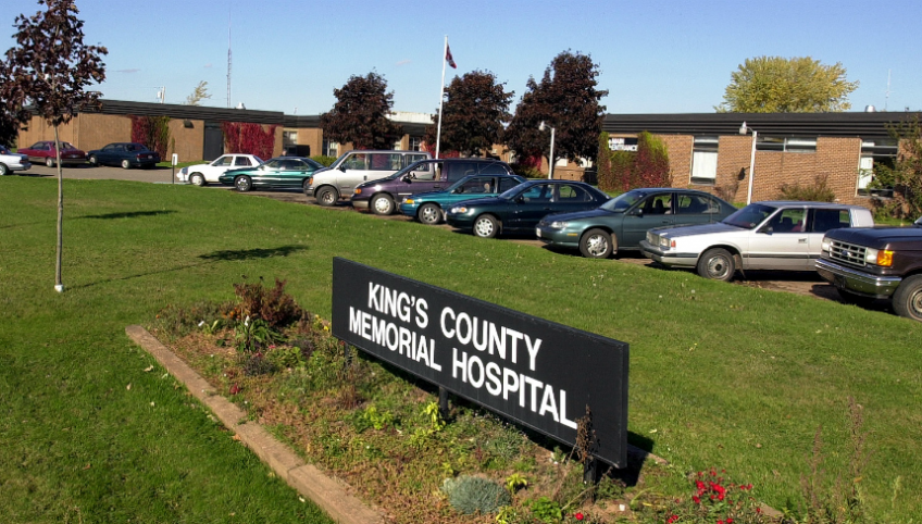 Photo shows Kings County Memorial Hospital