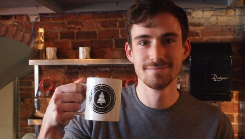 Receiver Coffee co-owner Chris Francis