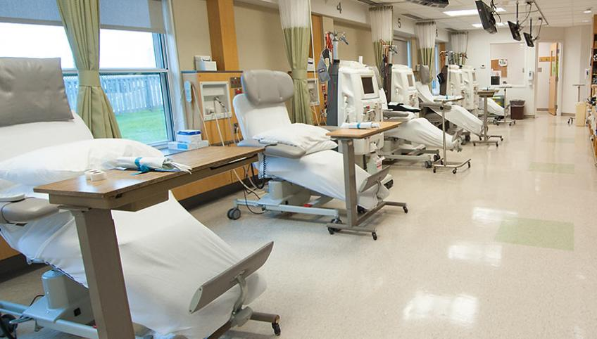 "Western Hospital dialysis unit will receive upgrades similar to the Souris dialysis unit ""Pictured"""