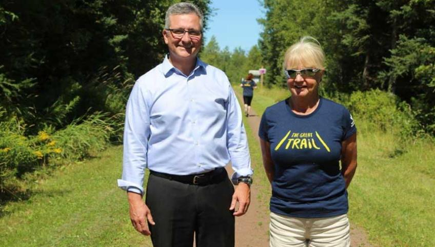 Confederation Trail celebrations August 26