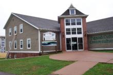 exterior of Access PEI Tignish building