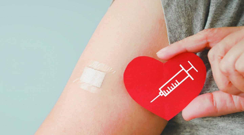 Graphique promotionnel sur la vaccination contre la grippe