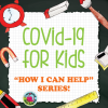 Cover of Children's Workbook about COVID-19