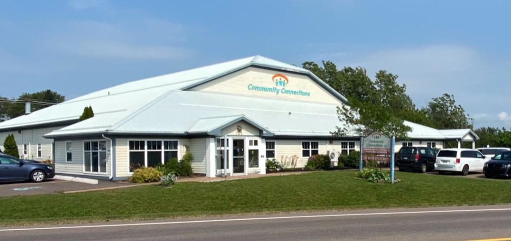 A photo of the Community Connections Inc. building in Summerside