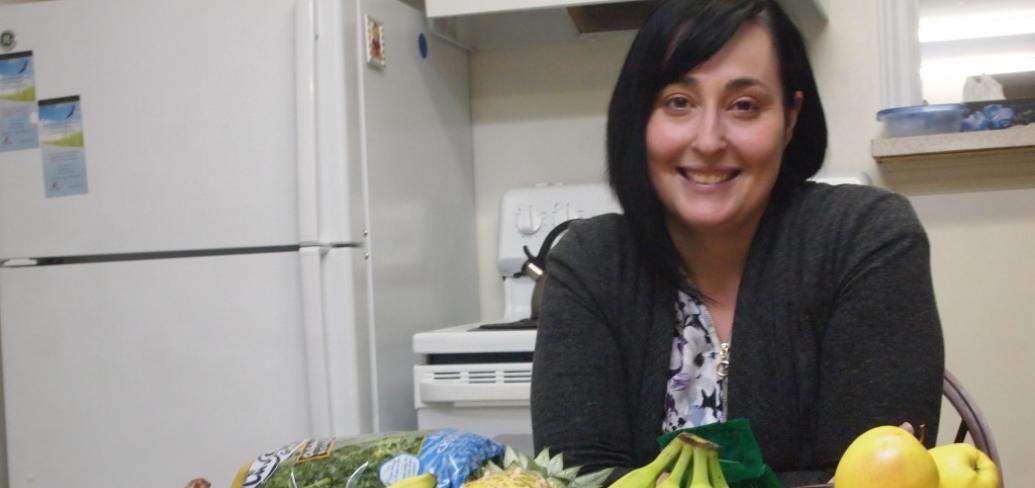 Christina Follett - Commnity Kitchen co-ordinator