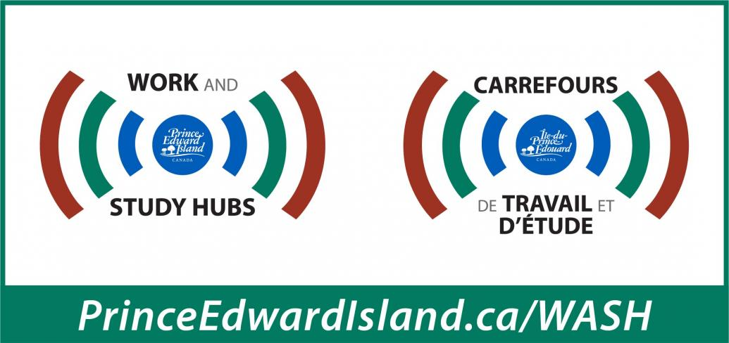 Image of radio waves from  PEI logo