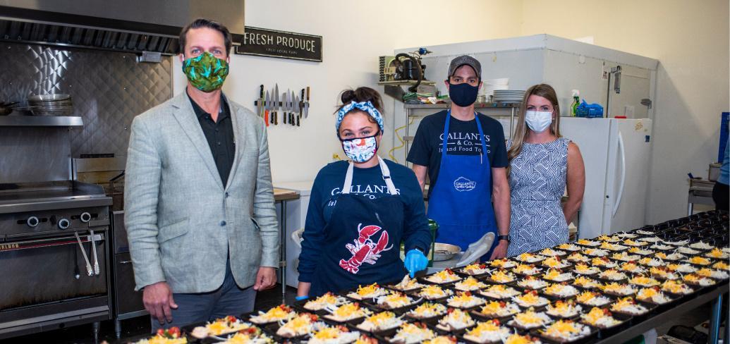 Un groupe de fonctionnaires de la cuisine commerciale lance le programme scolaire d'alimentation saine dans les écoles de l'Î.-P.-É.