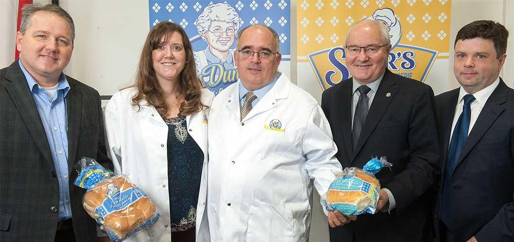 Officials gather for opening of Mrs. Dunsters Inc. bakery in Borden-Carleton