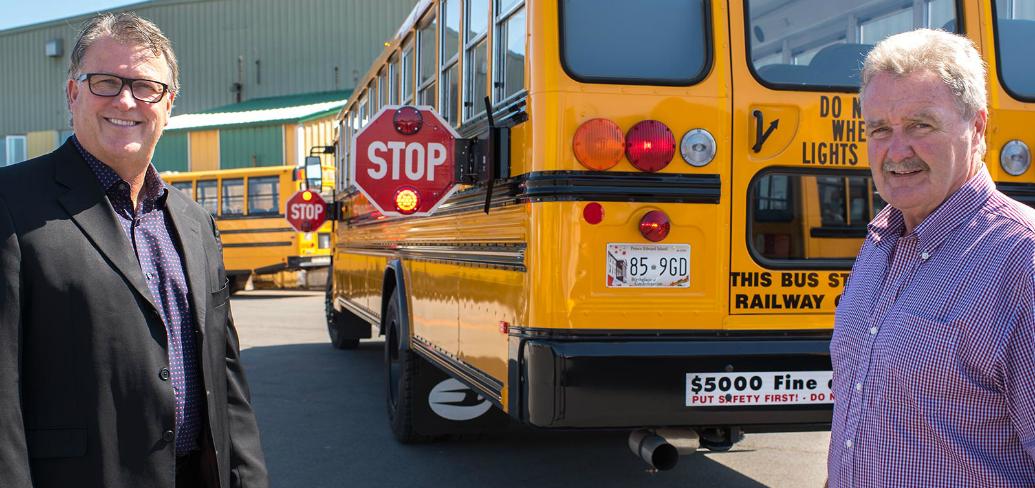 New school bus signs