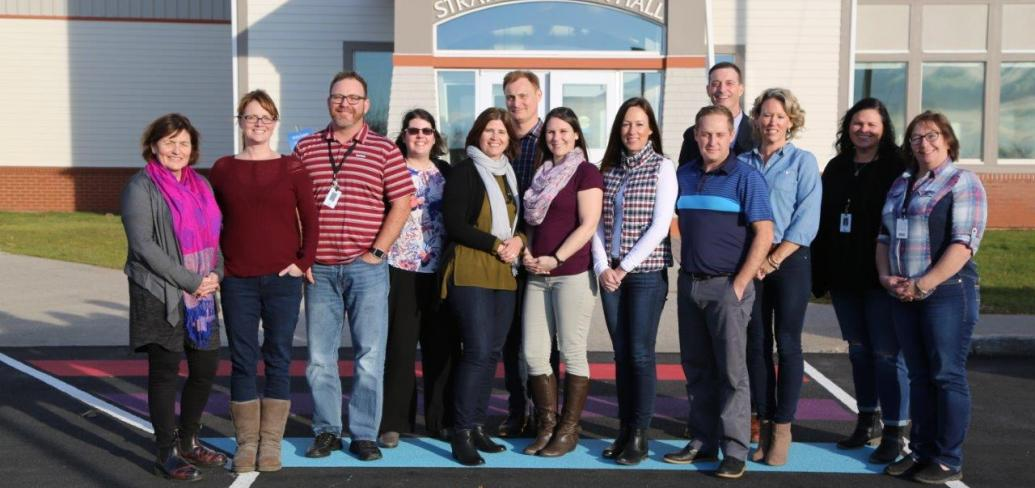 Montague and Westisle student well-being teams
