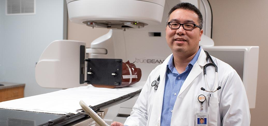 Dr. Larry Pan, radiation oncologist