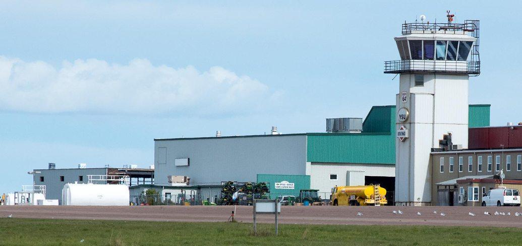 Slemon Park airfield