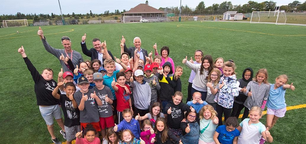 Renovations will upgrade the turf fields at Cornwall's Terry Fox Sports Complex