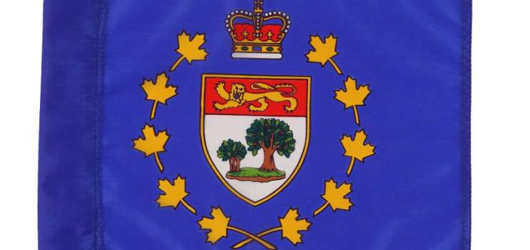 Image of flag of Office of the Lieutenant Governor