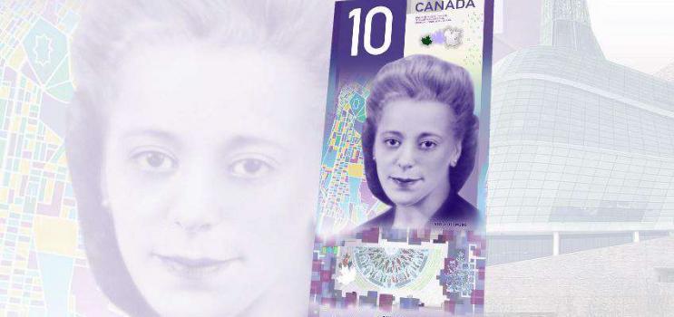 Image of Viola Desmond $10 banknote - (c) www.bankofcanada.ca