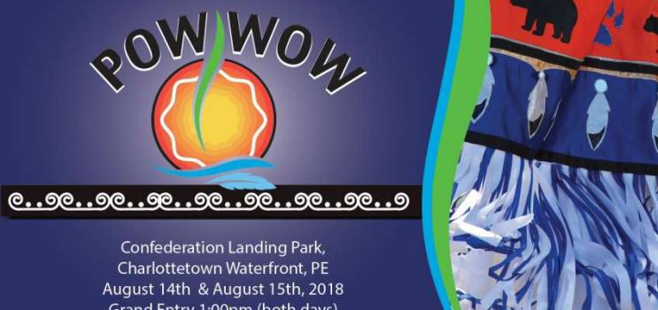 Mi'kmaq Confederacy POW WOW flyer (details in event listing)