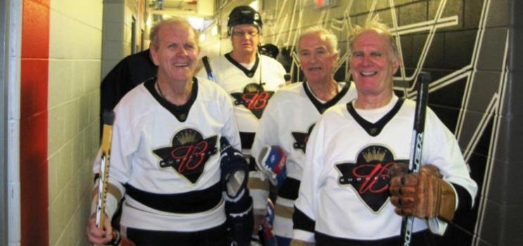 Senior male hockey team