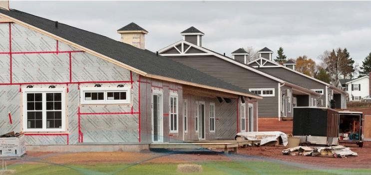 New housing construction PEI