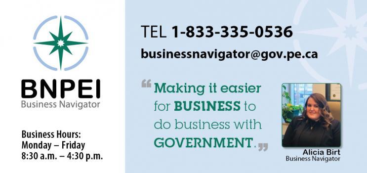logo for business navigator program