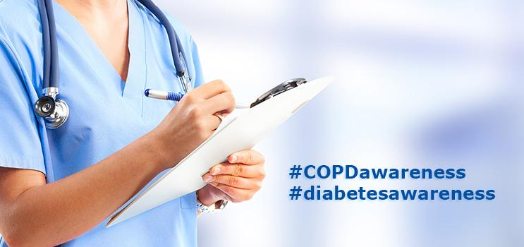 COPD Screening and Diabetes Risk Assessment