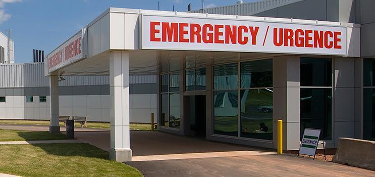 Emergency sign / Signe d'urgence