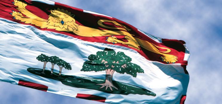 PEI provincial flag