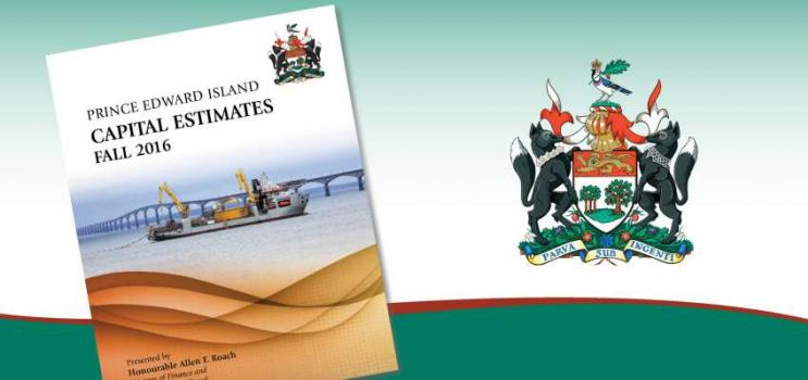 Minister of Finance Allen Roach presents the 2016-2017 Provincial Operating Budget