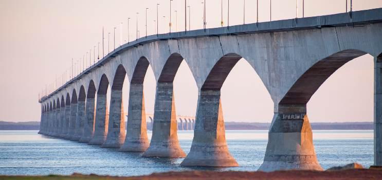 Photo of the Confederation Bridge