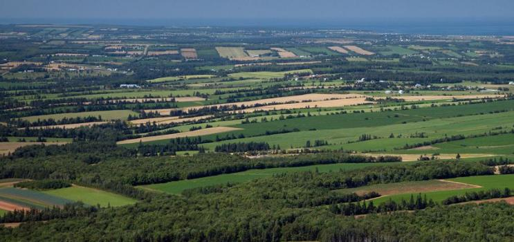 Aerial view of Brookvale, PEI