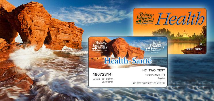 how to change health card by province