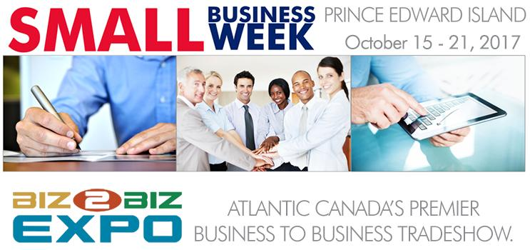 Small Business Week 2017 Logo and Biz to Biz Expo Logo